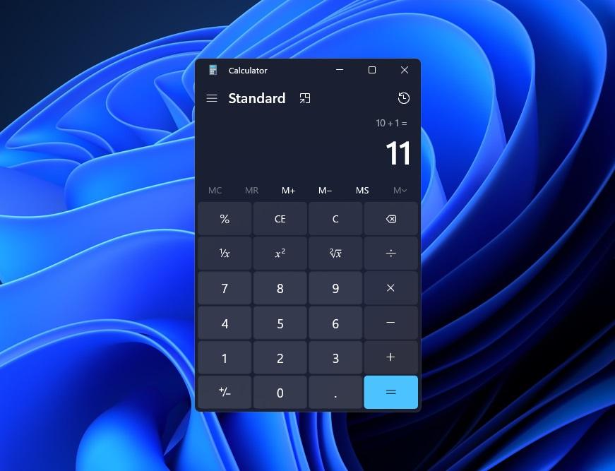 Windows-11-Calculator-App