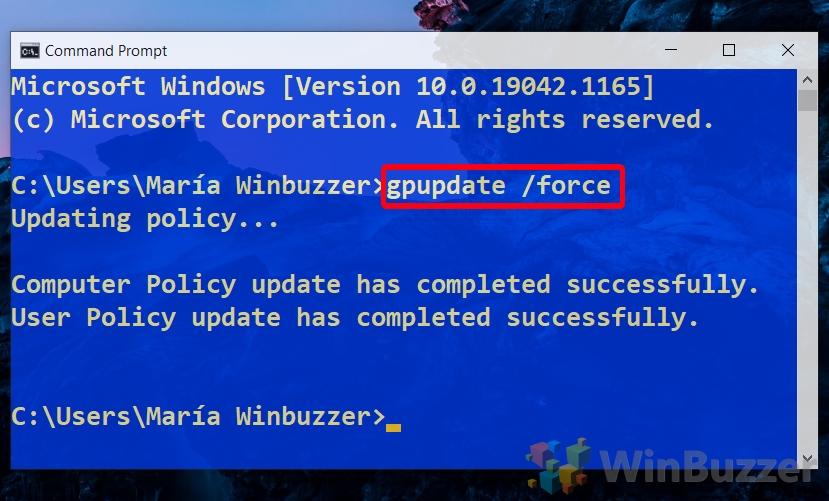 Windows 10 - Cmd - Enter Cmd