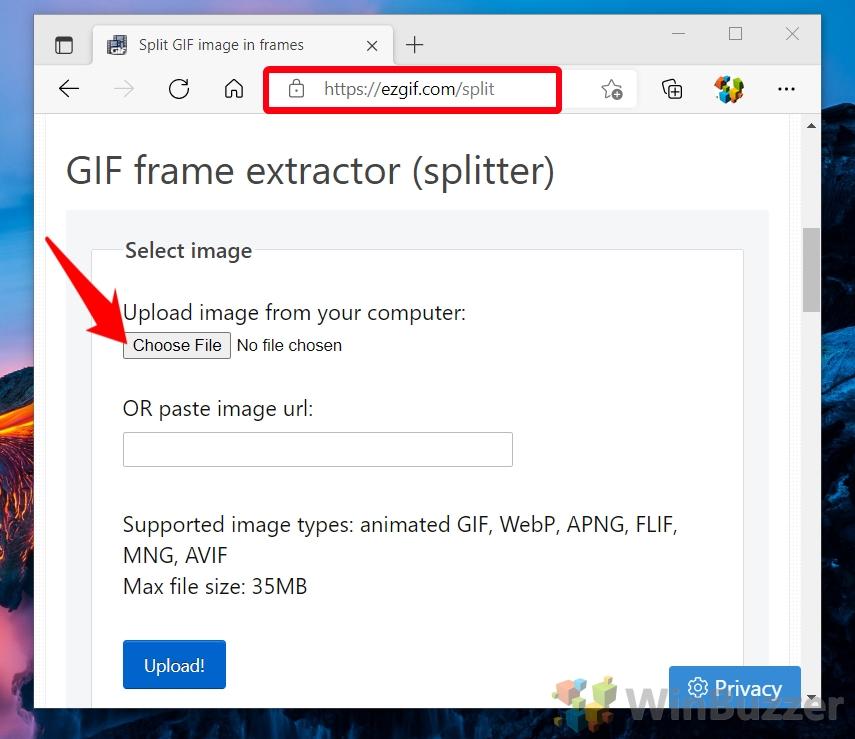 Windows 10 - ezgif.com - Choose File