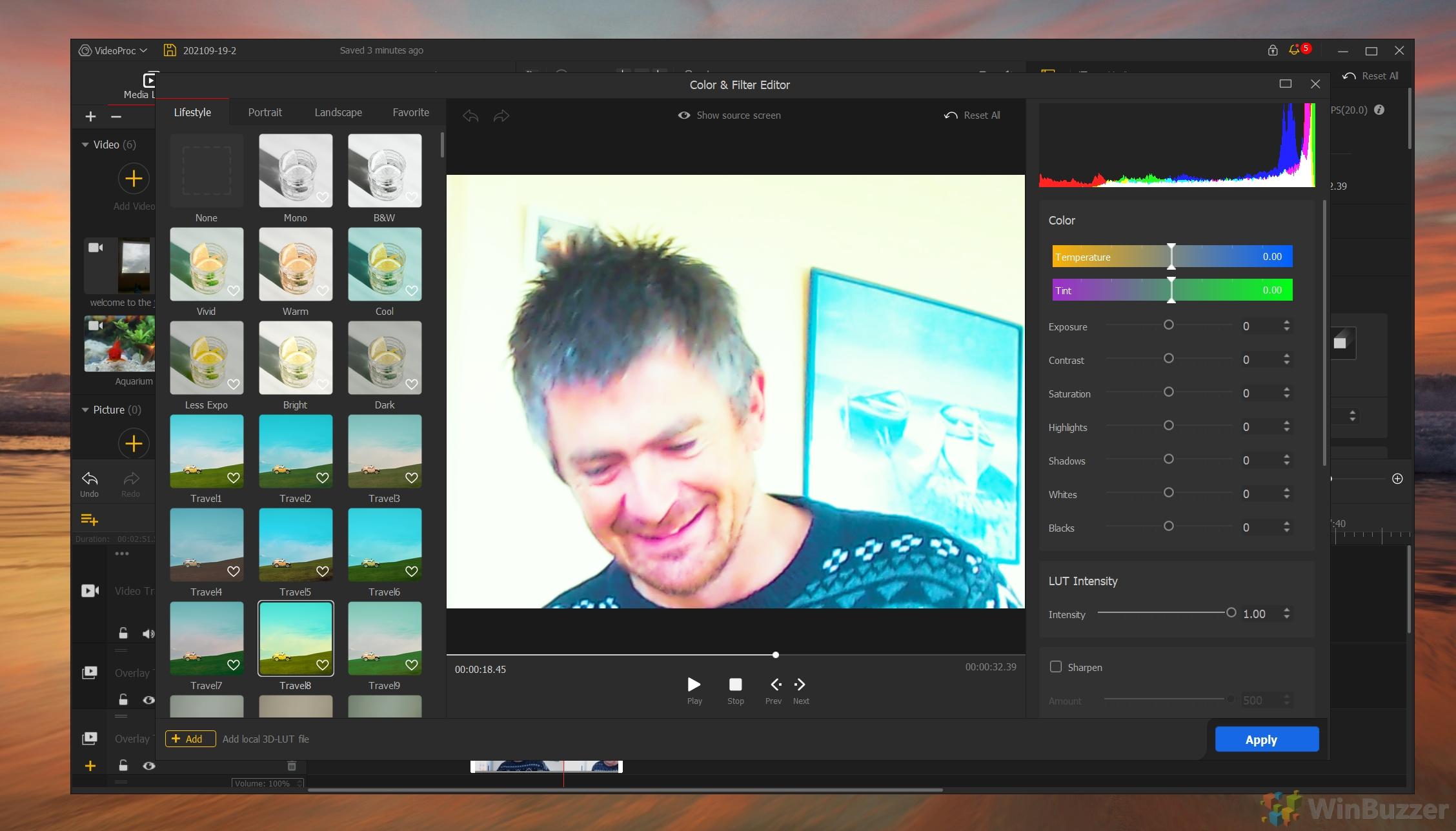 VideoProc Vlogger - Color & Filter Editor