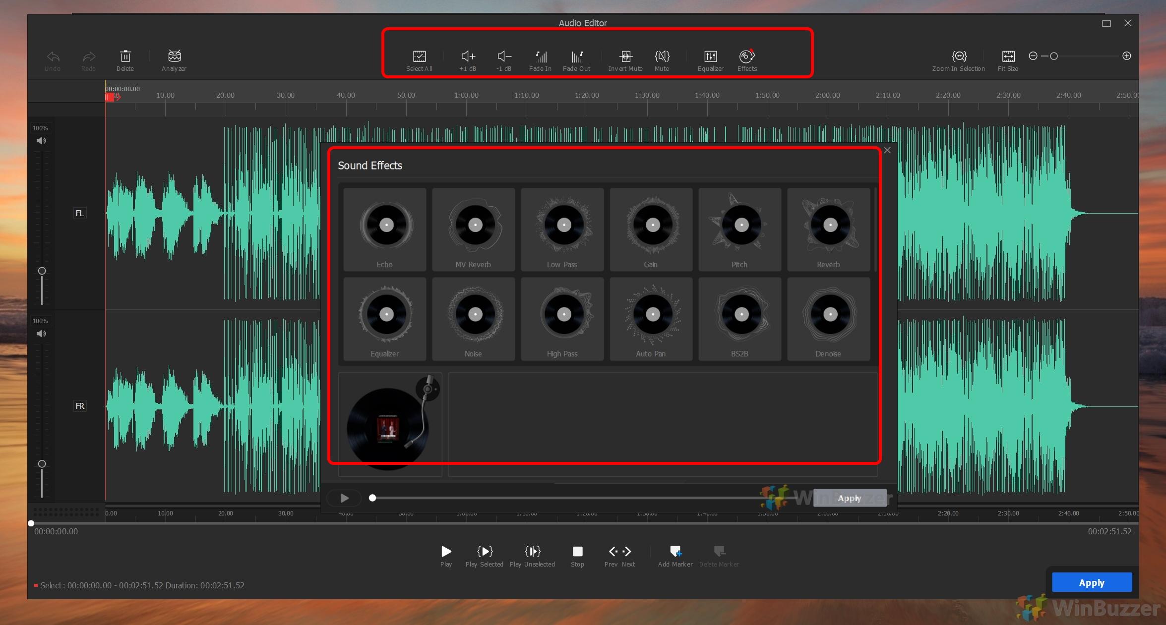 VideoProc Vlogger - Audio Track Editor