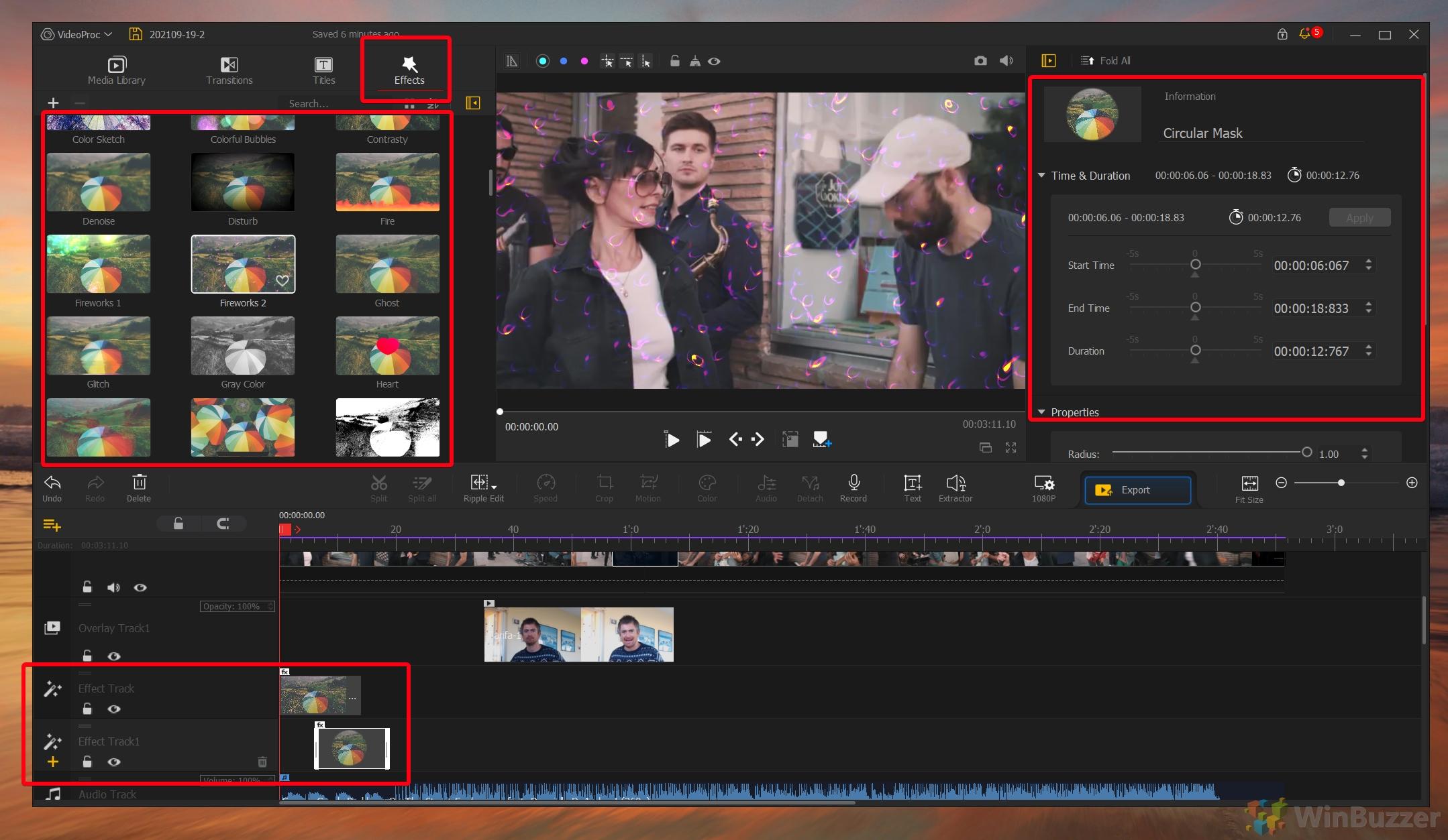 VideoProc Vlogger - Effects