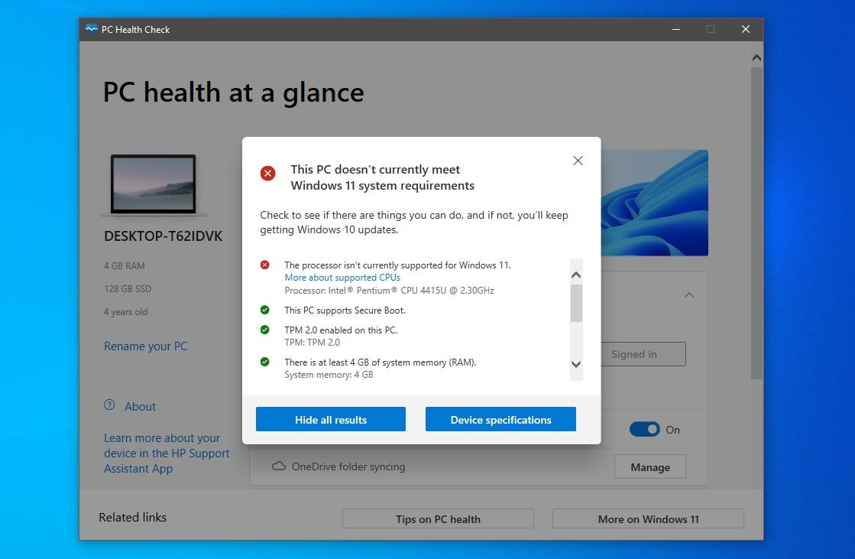 PC-Health-Check-Windows-11-Not-Compatibile-WinBuzzer-Own